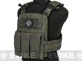 TMC 2125 High Speed Low Profile Plate Carrier - Ranger Green