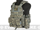 Avengers 6D9T4A Tactical Vest with Magazine and Radio Pouches (Color: ACU)