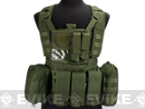Matrix Seal RRV Chest Rig / Tactical Vest - OD Green