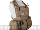 Matrix Seal RRV Chest Rig / Tactical Vest - Dark Earth