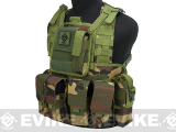 Matrix Special Operations RRV Style Chest Rig (Color: Woodland)