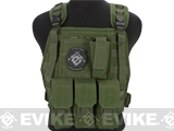 Avengers Tactical Spec. OPS MOLLE Plate Carrier / Load Bearing Vest (Color: OD Green)
