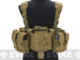 Avengers MOLLE Tactical Assault Vest - Tan