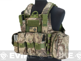 USMC C.I.R.A.S. Type Force Recon Tactical Vest (w/ Full Pouch System) - Forest Serpent