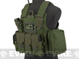 USMC Style C.I.R.A.S. Type Force Recon Tactical Vest (Color: OD Green)