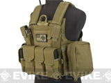 USMC Style C.I.R.A.S. Type Force Recon Tactical Vest (Color: Desert Tan)