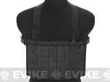 Matrix Airsoft MOLLE Panel SMG Chest Rig - Black
