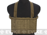 Matrix Airsoft MOLLE Panel SMG Chest Rig - Coyote Brown