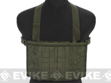 Matrix Airsoft MOLLE Panel SMG Chest Rig - Ranger Green