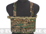 Matrix Airsoft MOLLE Panel SMG Chest Rig - Land Camo