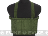 Matrix Airsoft MOLLE Panel SMG Chest Rig - OD Green