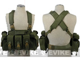 Matrix Navy Seal Load Bearing High Speed Chest Rig / Cordura - OD Green