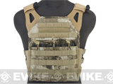 Avengers Compact Operator Airsoft High Speed JPC Plate Carrier - Arid Camo