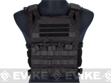 Avengers Compact Operator Airsoft High Speed Plate Carrier - Black