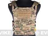 Avengers Compact Operator Airsoft High Speed Plate Carrier - Land Camo