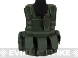 Matrix Tactical Systems Junior Size CIRAS Tactical Vest (Color: OD Green)