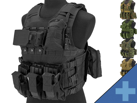 Matrix MEA Tactical Vest with M4 Magazine Pouches and Hydration Bladder
