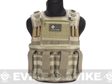 Matrix Tactical Systems Light Duo Strap Tactical Field Vest (Color: Tan)