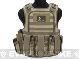 Matrix Tactical Systems Zip-Cord Tactical Field Vest w/ Duo Straps (Color: Tan)