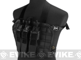 Matrix High Speed Operator Chest Rig w/ SMG Mag Pouch (Color: Black)