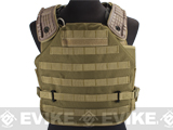 Avengers Future Soldier Airsoft Plate Carrier - Tan