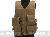 Matrix Childrens Size Tactical Zipper Vest w/ Integrated Magazine Pouches