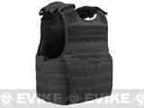 Condor Exo Plate Carrier (Color: Black / Small-Medium)