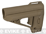 VFC Quick Response System (QRS) Stock for M4 / M16 / AR15 Style Airsoft Rifles (Color: Tan)