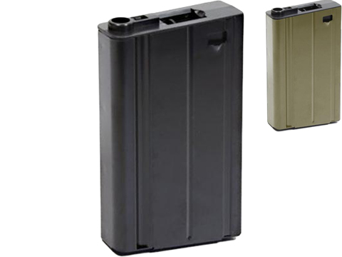 VFC Metal 500rd Hi-Cap Magazine for MK17 / SCAR-H Series Airsoft AEG Rifles (Color: Black)