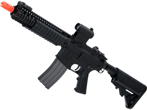 Cybergun Colt Licensed MK18 MOD1 Full Metal Airsoft AEG Rifle by VFC (Color: Black)