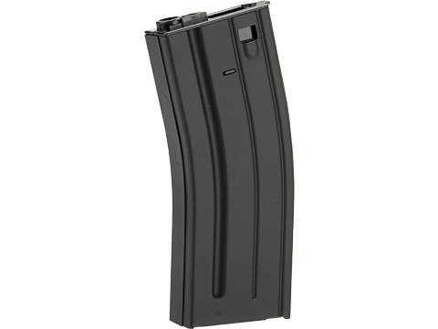 VFC Steel Stamped GI Magazine for SCAR M4 M16 Series Airsoft AEG Rifles (Type: 300rd Hi-Cap / Black)
