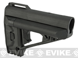VFC Quick Response System (QRS) Stock for M4 / M16 / AR15 Style Airsoft Rifles - Black