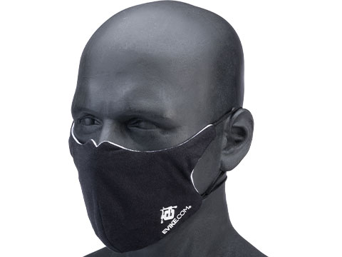 Vi-Mask Anti-Viral Nanotech Face Mask (Size: Black / Medium)