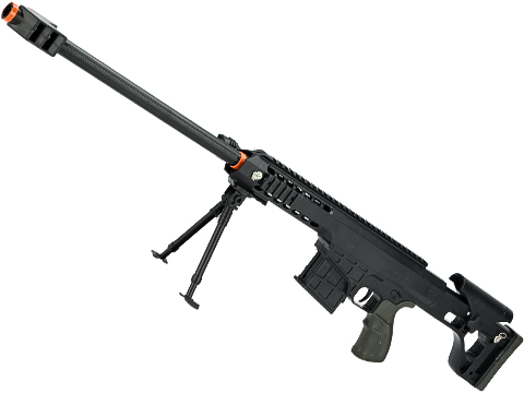 ASP C11 Mini Single Shot Spring Powered Airsoft Rifle (Color: Black / 730mm)