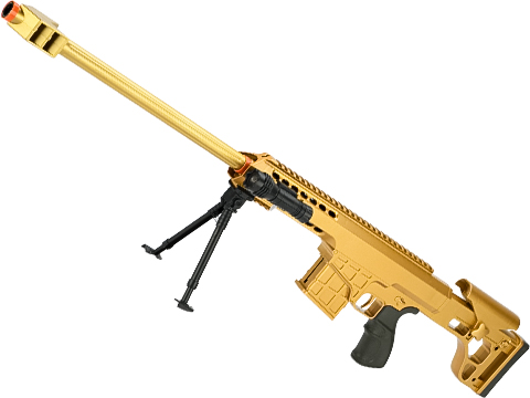 ASP C11 Mini Single Shot Spring Powered Airsoft Rifle (Color: Gold / 830mm)