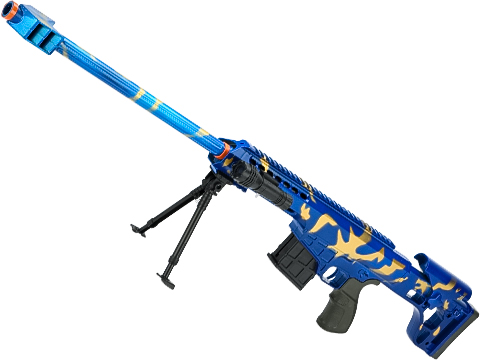 ASP C11 Mini Single Shot Spring Powered Airsoft Rifle (Color: Blue / 830mm)
