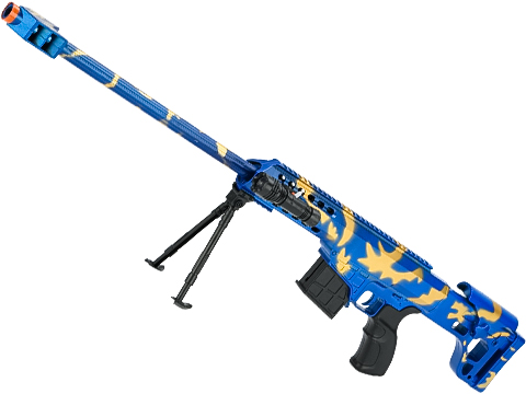 ASP C11 Mini Single Shot Spring Powered Airsoft Rifle (Color: Blue / 730mm)