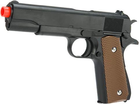 ASP Full Size Spring Powered GI Style 1911 Airsoft Pistol