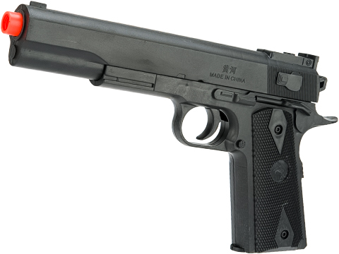 ASP 1911 Extended Spring Powered Airsoft Pistol