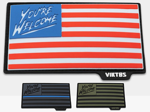Viktos Grateful Nation PVC Moralpha Patch