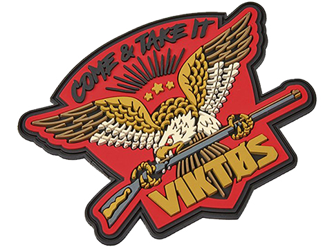 Viktos Rifle PVC Moralpha Patch (Color: Red)