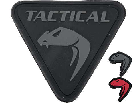 Viper Tactical Snake Head Rubber Moral Patch