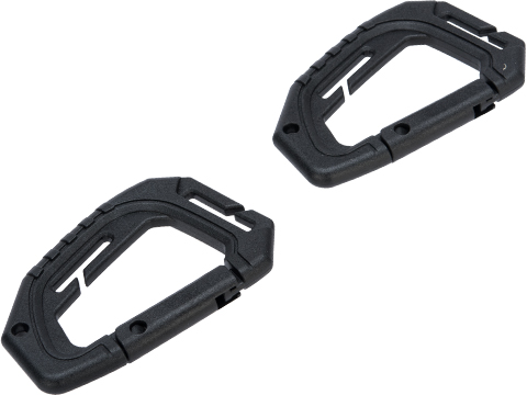 Viper Tactical Special Ops Carabiner (Color: Black / Pack of 2)