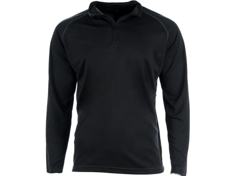 Viper Tactical Mesh-Tech Armour Long-Sleeve Base Layer Top (Color: Black / Large)