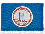 Evike.com Tactical Embroidered U.S. State Flag Patch (State: Virginia The Old Dominion State)