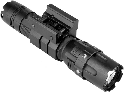 NcStar / VISM Pro-Series 500 Lumen Mod 2 LED Flashlight with Weaver / 20mm Rail Mount