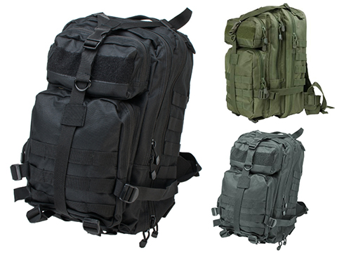 VISM Small Tactical Backpack (Color: Black)