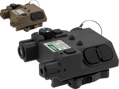 Vism L2 PEQ Light Laser Combo with Green laser and Map Lights (Color: Black)