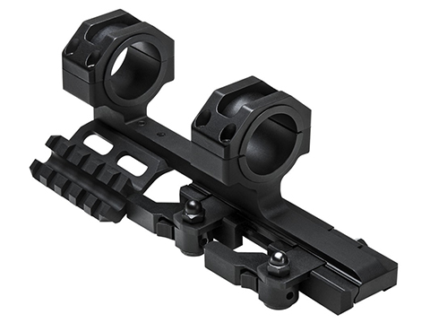 VISM by NcSTAR 30mm Cantilever SPR Quick Release Modular Scope Mount w/ Rails
