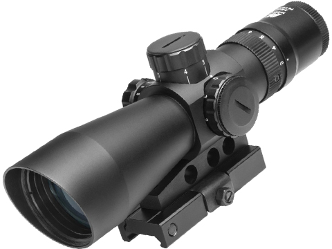 NcStar 3-9X42 Mark III Series Tactical Gen II Variable Magnification Blue / Green Scope